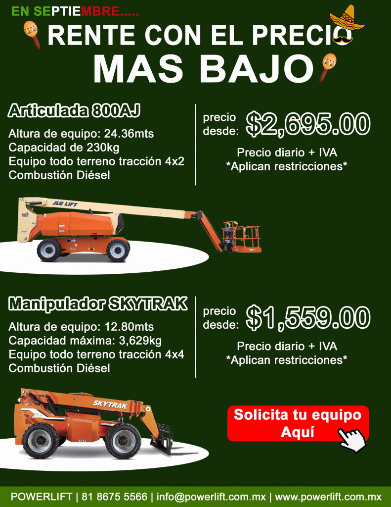 Promo Powerlift Septiembre 2019